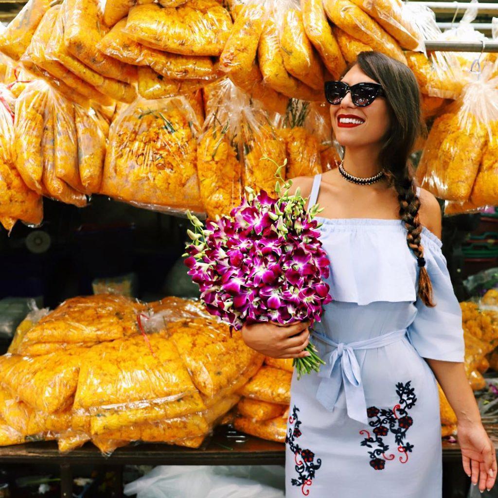 Flower Market Bangkok Life VisitThailand