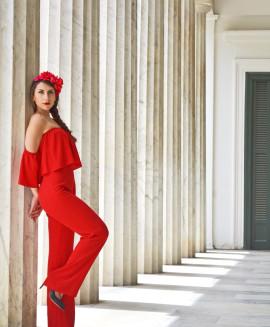 tuta rossa di zara collezione primavera estate 2016 spalle scoperte