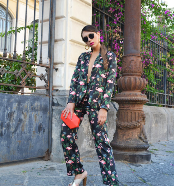 Fenicotteri, rosa bouganville e ananas – Tre tendenze un solo look