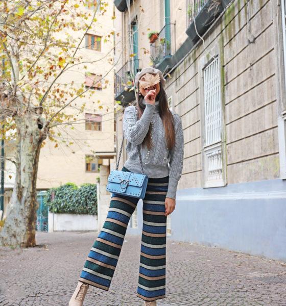 Look Inverno 2018 – Maglione a collo alto e la mia Pinko Bag