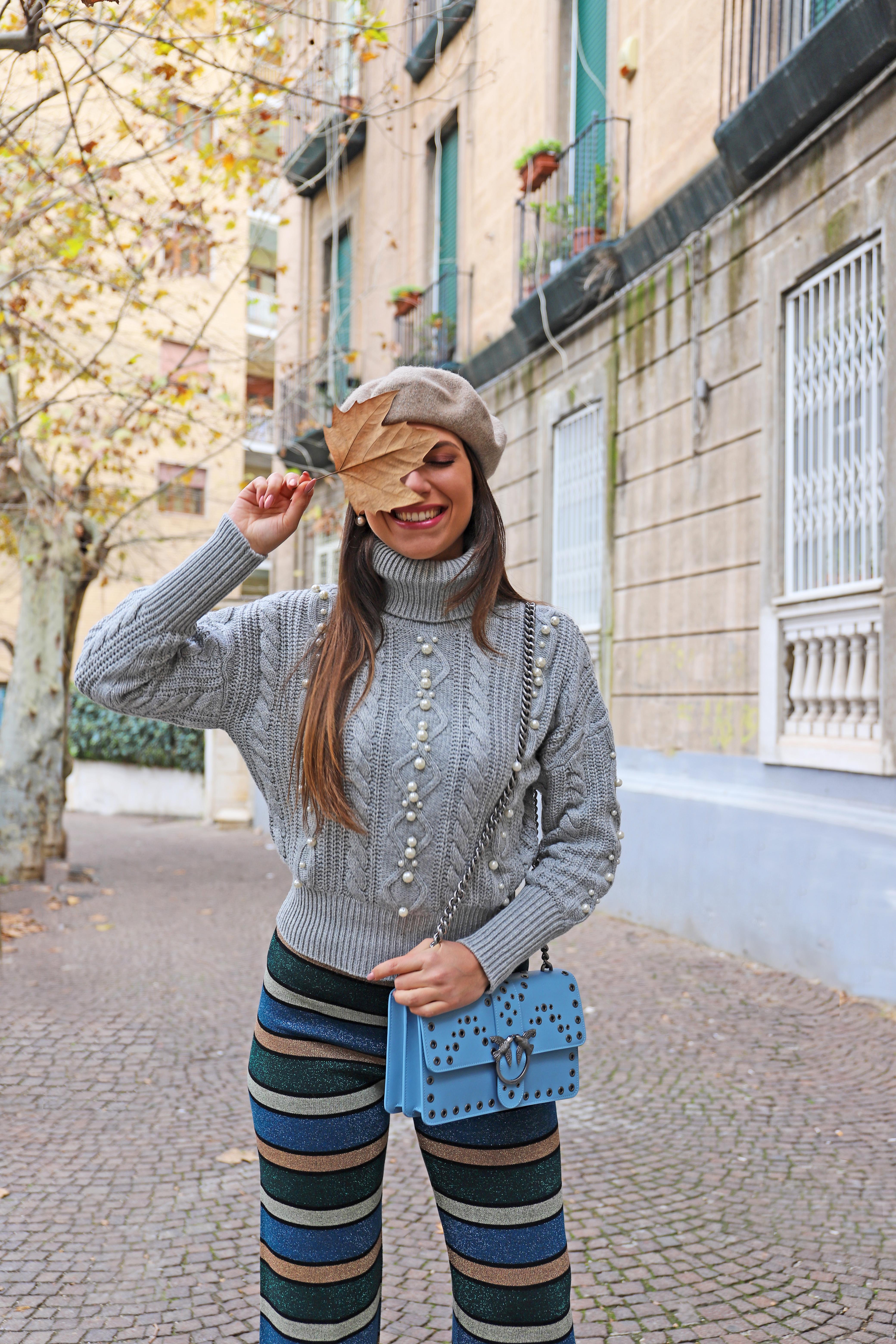 check-out 4b747 86086 maglione grigio perle zara guess marciano lea flo - Venus at ...