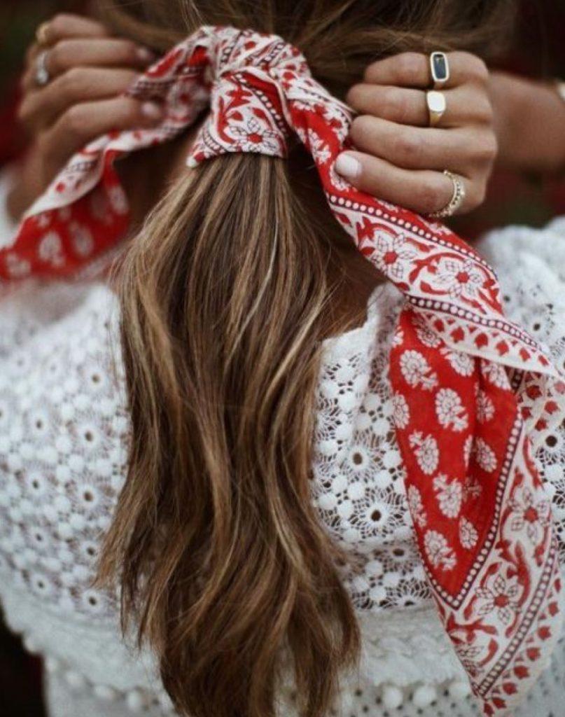foulard per capelli