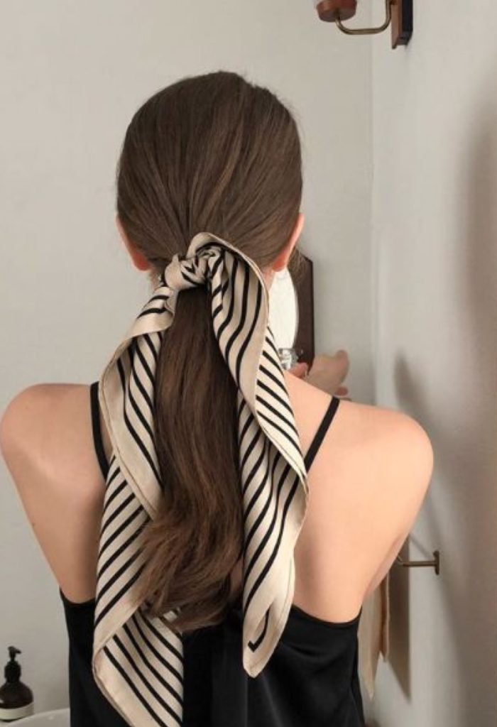 foulard coda di cavallo