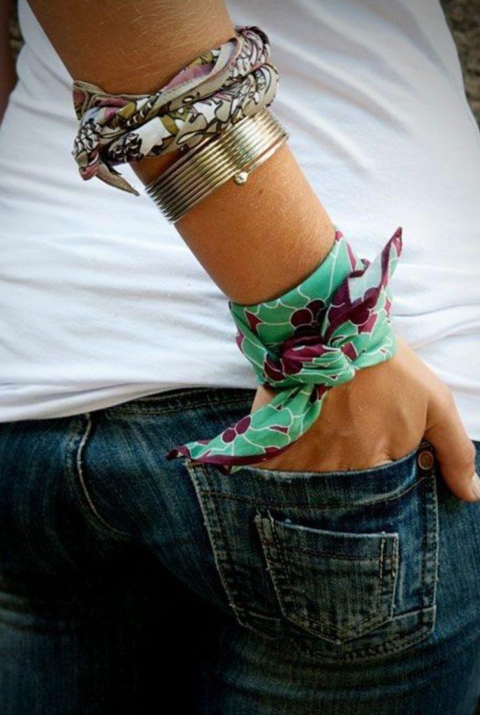 foulard a bracciale
