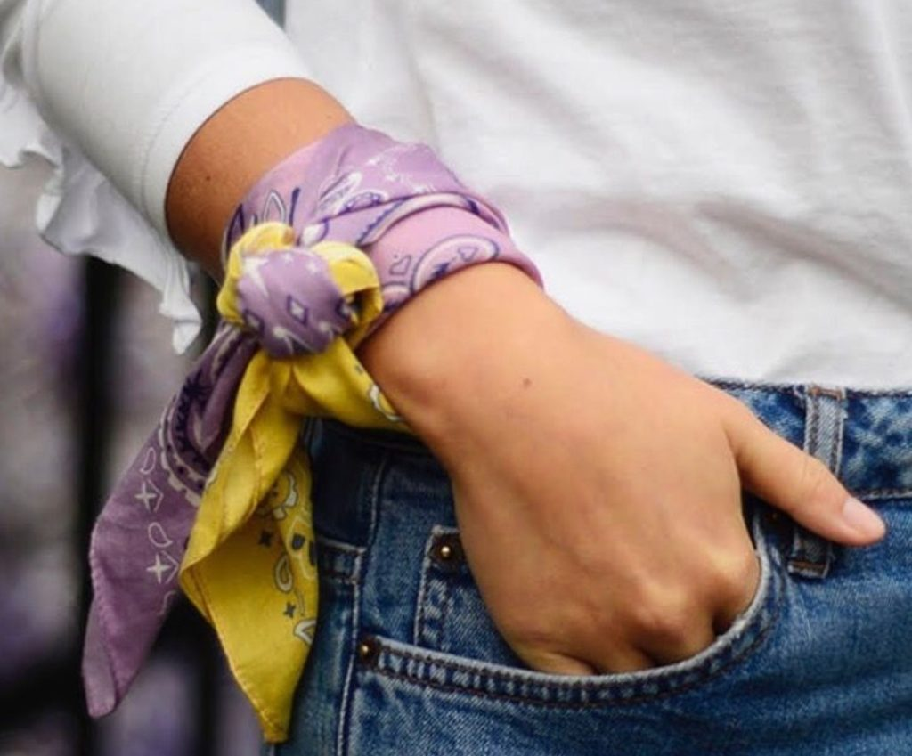 bracciale foulard