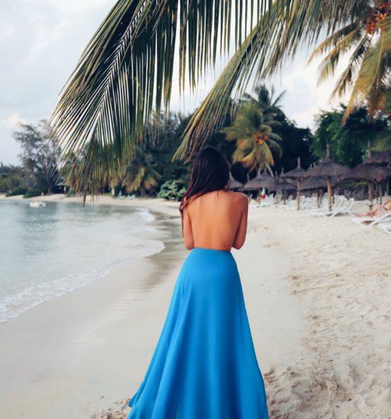 Una gonna pareo di La Perla a Mauritius