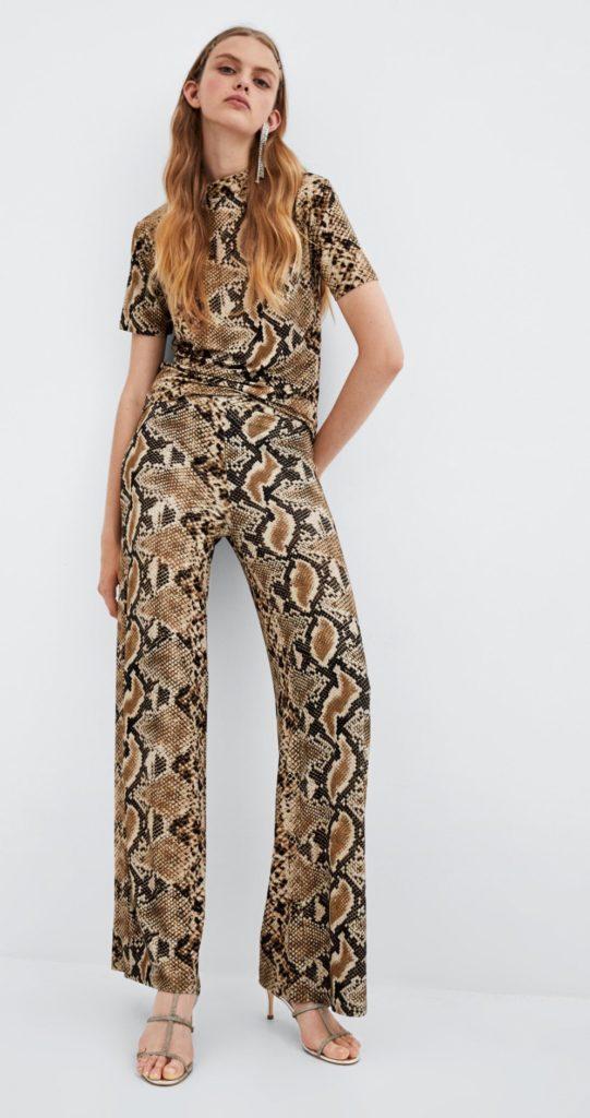 completo maglia pantalone serpente