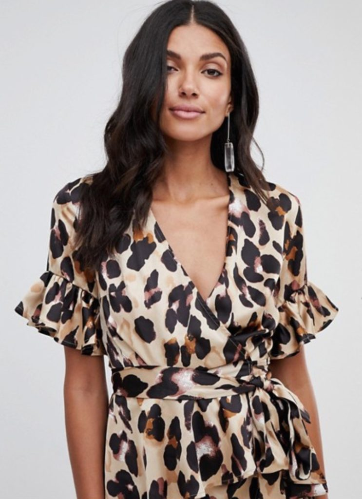 top leopardato asos