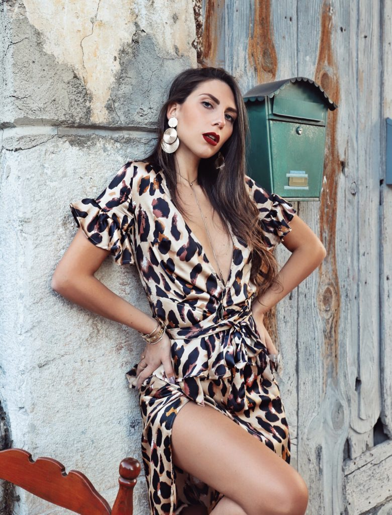 sensual leopard look
