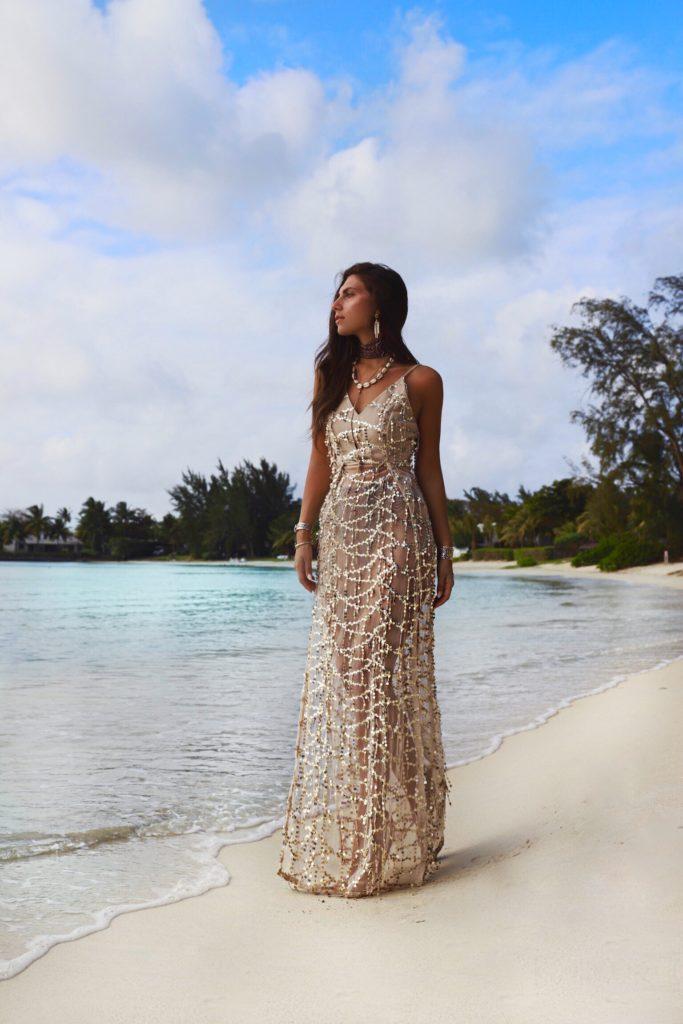 abito spiaggia elegante