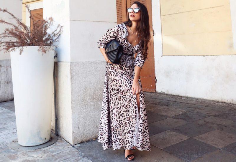 Stampa animalier – Il mio maxi abito leopardato