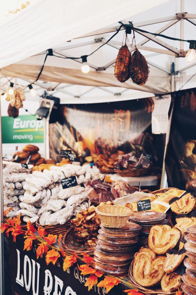 mercato del cibo parigi