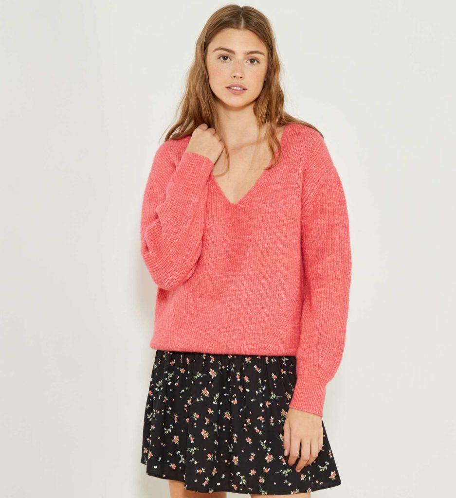 maglione kiabi corallo