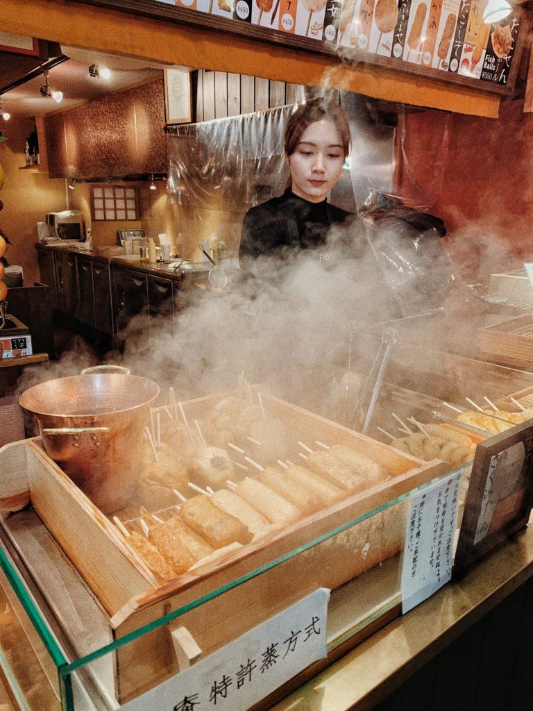 mercato del cibo kyoto