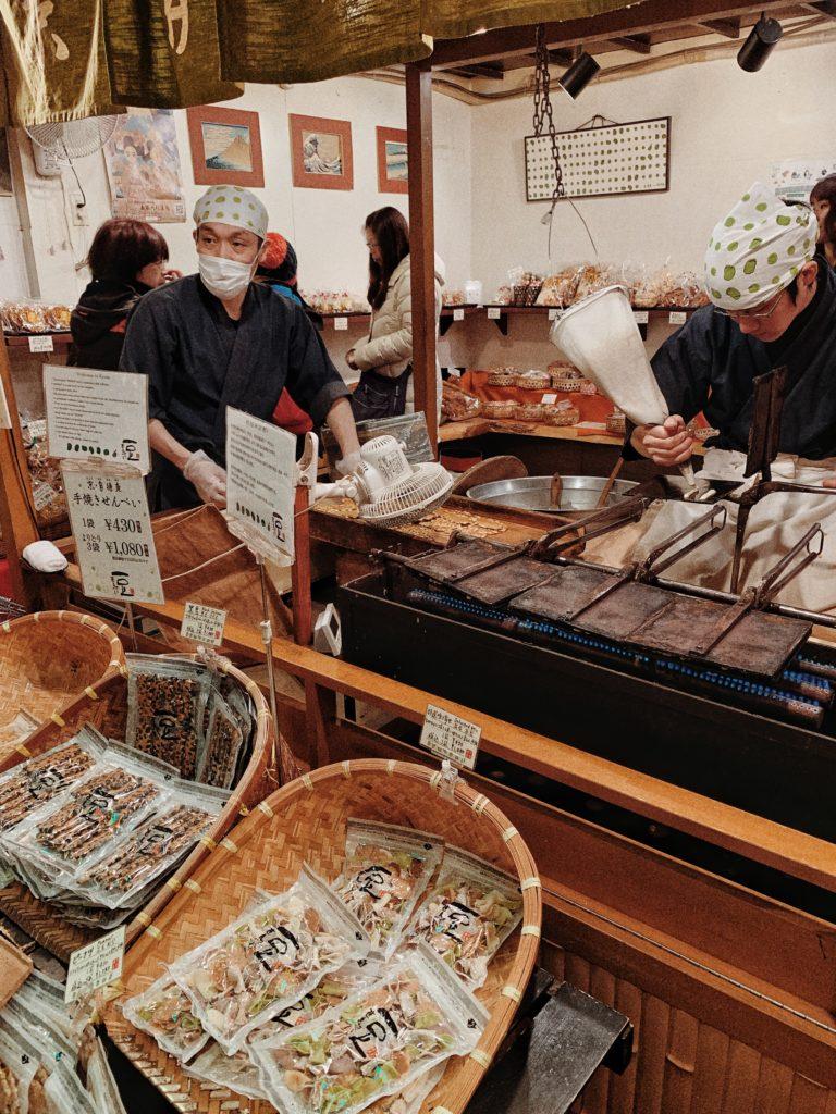 mercato del cibo kyoto nishiki
